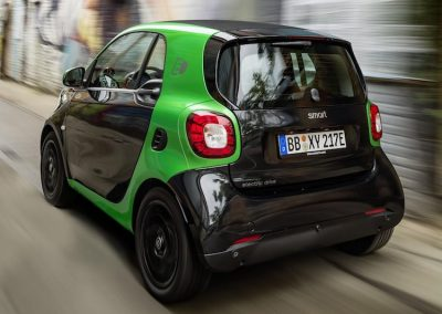 Smart ForTwo Electric Drive achterkant
