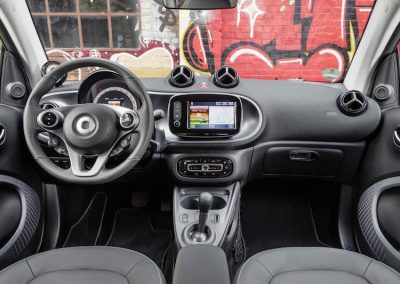 Smart ForTwo Electric Drive dashboard