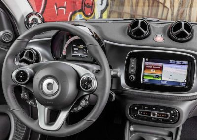 Smart ForTwo Electric Drive dashboard detail