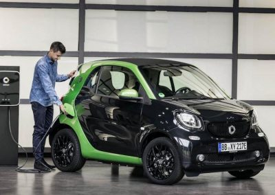 Smart ForTwo Electric Drive laden