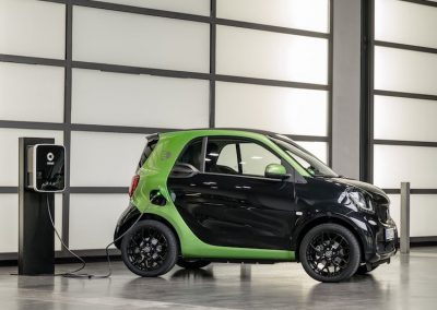 Smart ForTwo Electric Drive opladen