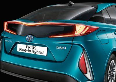 Toyoto Prius Plug-in achterkant