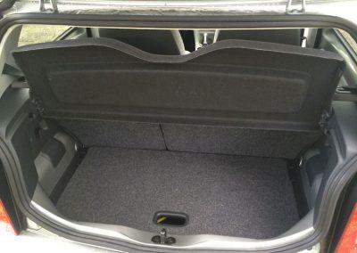 Volkswagen e-Golf kofferruimte