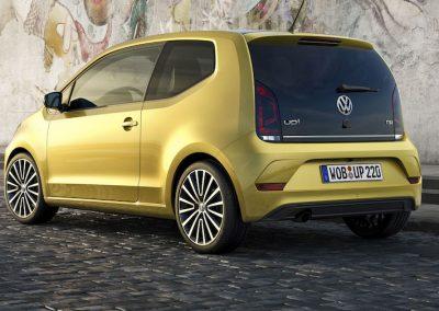 Volkswagen e-up! achterkant