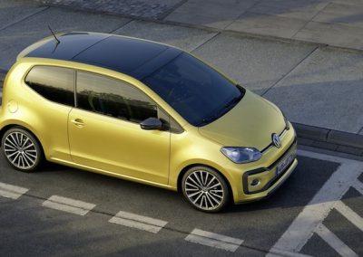 Volkswagen e-up! boven