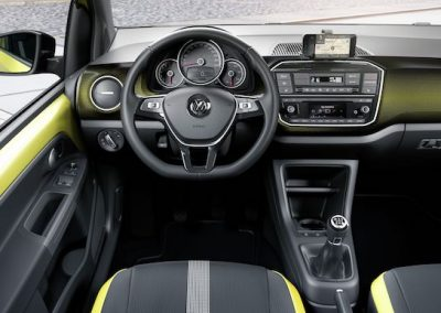 Volkswagen e-up! interieur