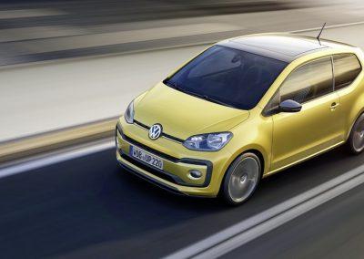 Volkswagen e-up! op weg
