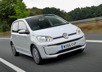 Volkswagen e-up! rijdend
