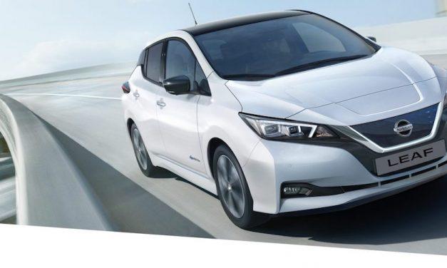 Nissan start verkoop nieuwe Nissan Leaf 2.Zero Edition